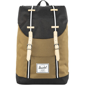 Herschel Retreat Rygsæk beige/sort